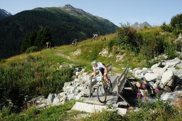 Der 20. Ischgl Ironbike am 2. August 2014