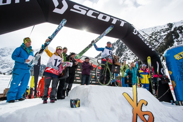 Wildface 2014 Frauen Podium