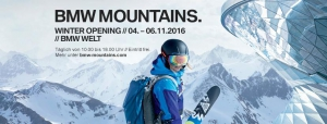 BMW Mountains Winter Kick-Off