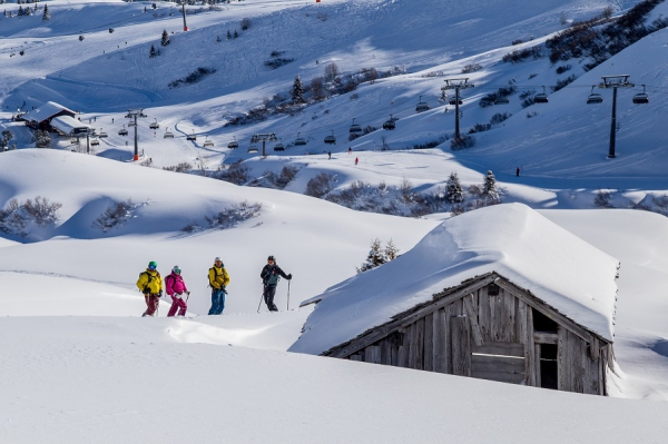 Freeriden in Lech am Arlberg