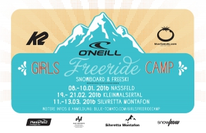 5 Jahre O'NEILL Girls Freeride Camps!