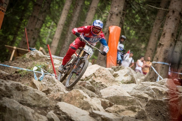 UCI DH-Worldcup in Saalfelden Leogang