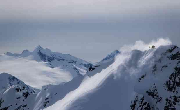 Happy Faces, große Lines & Bruchharsch in Alaska