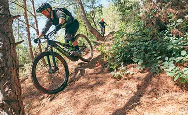 Test Bike & Gabeln