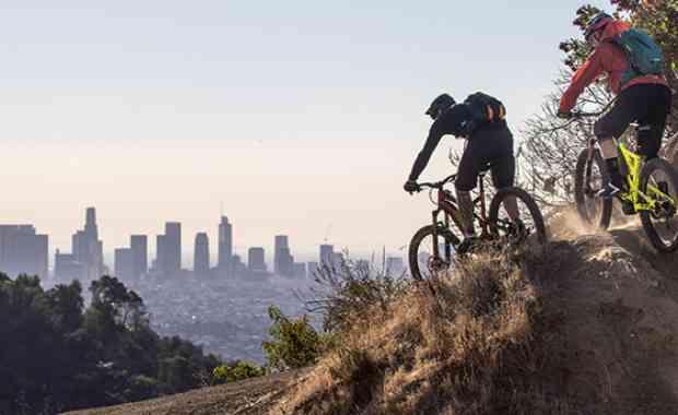 Trans Angeles - urban bike adventure