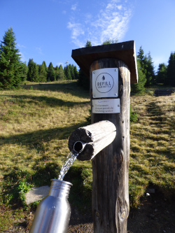 20200520 Plose Refill your bottle Brunnen