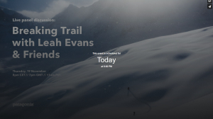 Breaking Trail mit Leah Evans & Friends