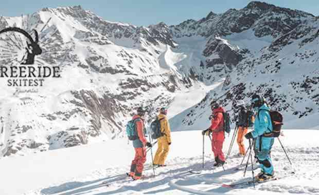 """Freeride Skitest Kaunertal 2019/20: Kategorie """"DEEP POW"""""""